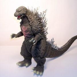 DX Giant 12 Inch Battle Damaged Godzilla 2004 Tokyo SOS Bandai