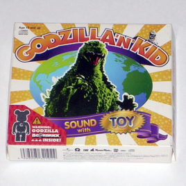Godzilla N Kid Music CD and BearBrick Figure 2003