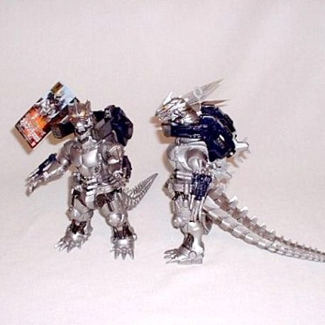 MechaGodzilla Action Figure 2003 Super Weapons Mint with Tag