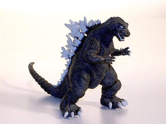 Godzilla High Grade Set 8 Bandai 2001 6 Pieces Complete
