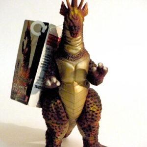 Movie Monster Series Titanosaurus Figure with 2002 Tag Rare