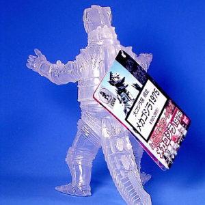 Movie Monster Series Crystal MechaGodzilla Action Figure1975 Limited Edition Rare