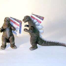 Movie Monster Series Godzilla Action Figure 1974 Rare with Tag