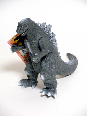 Movie Monster Series 1954 Godzilla Action Figure Pink 2005 Bandai with Tag