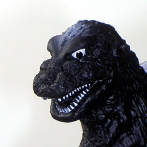 Movie Monster Series Godzilla Action Figure 1954 Bandai 2001 Gray with Tag