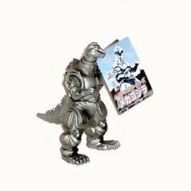 Movie Monster Series MechaGodzilla Figure 1993 Bandai 2001 Sticker Mint