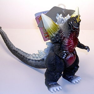 Movie Monster Series Space Godzilla Figure Reissue Pink Tag 2005
