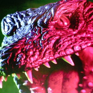 Raiga the Deep Sea Monster Theater Movie Poster