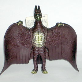 Rodan Action Figure 1956 Bandai Vintage with Tag 1991