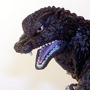 Ultimate Godzilla Collection Godzilla Hyper Figure Fins 2005