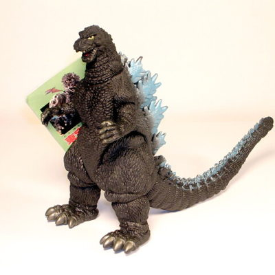 Toho Kaiju Heisei Godzilla Figure 1989-1995 Style Green Tag