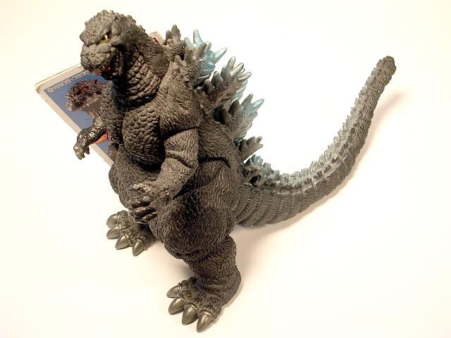 Toho Kaiju Heisei Godzilla Figure 1989 Blue Tag Bandai ...