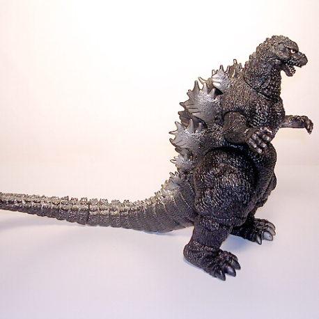 Godzilla 1992 Figure Silver Fin Godzilla vs Mothra Bandai