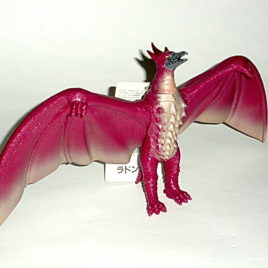 Fire Rodan Figure 1993 Bandai Mint with Near Mint Tag