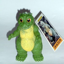 Little Godzilla Figure Vintage 1994 Bandai Mint with Tag