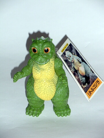 Little Godzilla Figure Vintage 1994 Bandai Mint with Tag