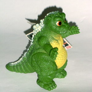 Little Godzilla Action Figure Vintage 1994 Bandai Mint with Tag