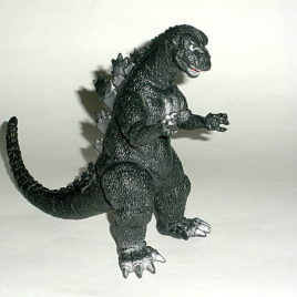 Godzilla Figure 1984 Bandai Very Hard to Find