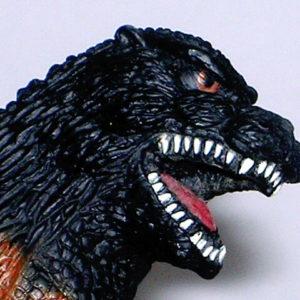 Burning Godzilla Figure Bandai 1995 Near Mint with Tag