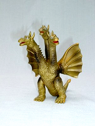 Yamakatsu King Ghidorah Figure 1983 Vintage Hard to Find