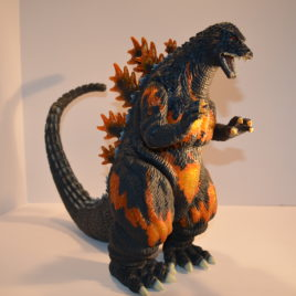 marmit 2012 very rare lottery burning meltdown godzilla 1995
