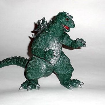 CCP Godzilla vs King Kong 1962 AMC Series Green Figure