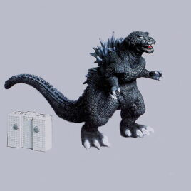Remote Control Godzilla