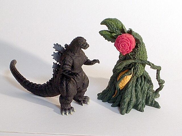 Godzilla Vs Biollante Toys 98
