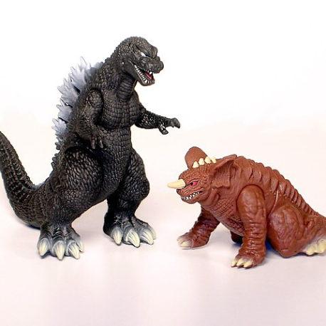 Cho Kessen Hyper Figure GMK Godzilla
