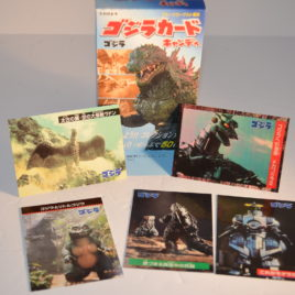 godzilla 1999 millennium box set 5 trading cards japan