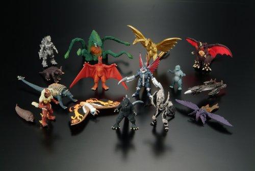Godzilla Final Wars Figures Zukan 16 Piece Set In Box Bandai 2005