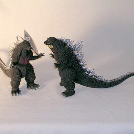 Godzilla Figure 2004 Battle