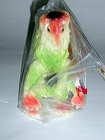 M1 Hedorah Smog Monster Bullmark Glow in the Dark 2001 Mint in Bag