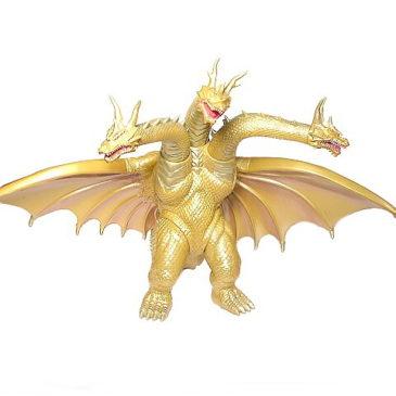 Grand King Ghidorah Figure 1998 Ghidora Mothra 3 Bandai No Box