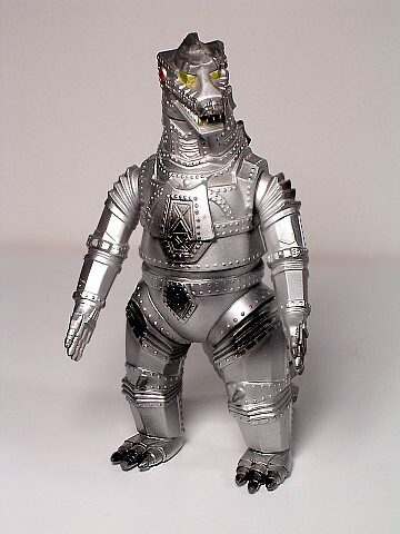 Mechagodzilla Figure 1974 Bandai Reissue 1988 Near Mint