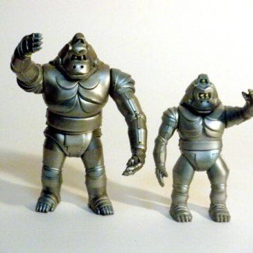 Mechani-Kong Figure Yamakatsu 1983 Rare Excellent Condition