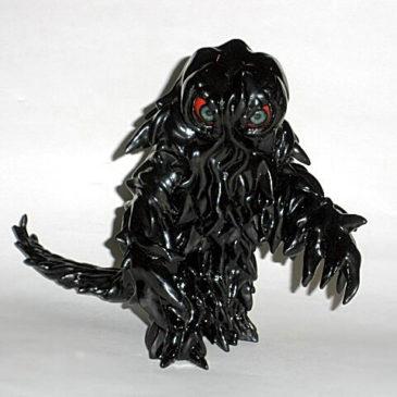 Shiny Coal Black Hedorah Smog Monster Figure CCP 2004