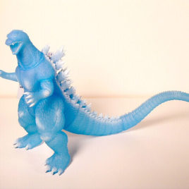 Theater Exclusive Final Wars Godzilla 2005 Ice Blue Mint with Tag