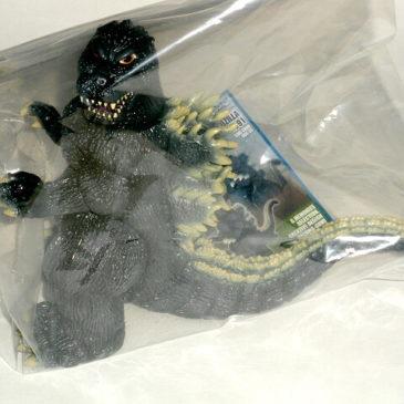 Godzilla Figure 1991 Hazawa Gumi 2011 Mint in Bag