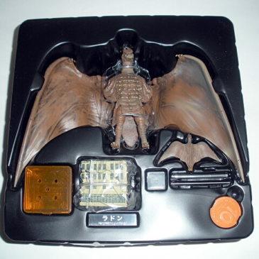 Rodan 1956 Figure Revoltech Kaiyodo with Mini Flying Rodan Mint in Box
