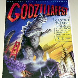 Godzilla 50th Anniversary Fest San Francisco Event Program