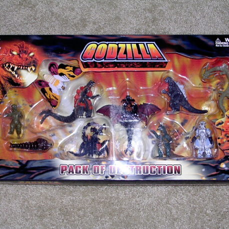 Godzilla Play Set Pack of Destruction