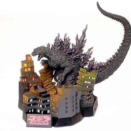 Yuji Sakai Godzilla Diorama