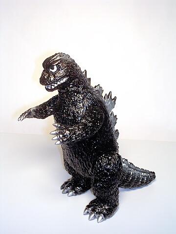 Vinyl Paradise Godzilla Figure 1964 Black Marmit VP93 Mint in Bag