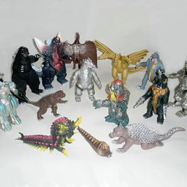 Godzilla Figure Memorial Box Set