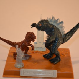 Best of Godzilla USA Godzilla with Baby Diorama