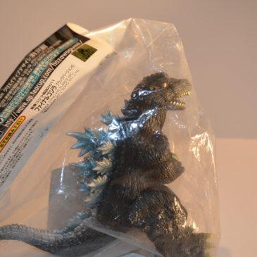 Godzilla 2004 Black Figure Final Wars Hazawa Gumi Mint in Bag