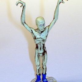 Choc O Vader Skinny Long Armed Grey Mini Alien by Tomy