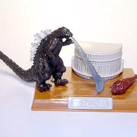 Best of Godzilla Godzilla vs Mothra Larva Diorama