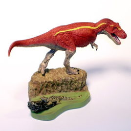 Sega Dino Boxed Diorama Tyrannosaurus with Riotodon